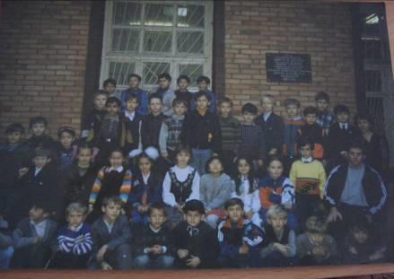Фото: Шахматный клуб ул. Кирова, 50. Участники турнира 'Звездочки Армавира', октябрь 2002г.